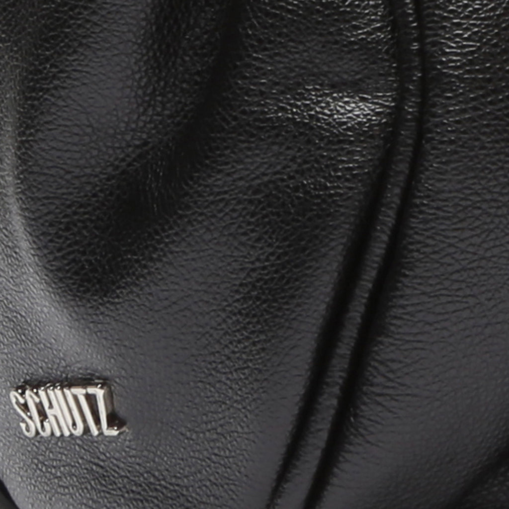 Demi Leather Bag in Black
