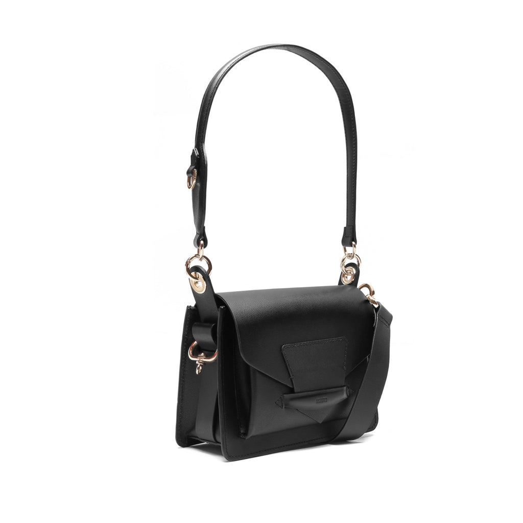 Paloma Leather Bag in Black