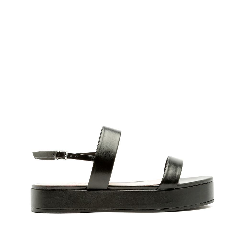 Sally Sandal in Black