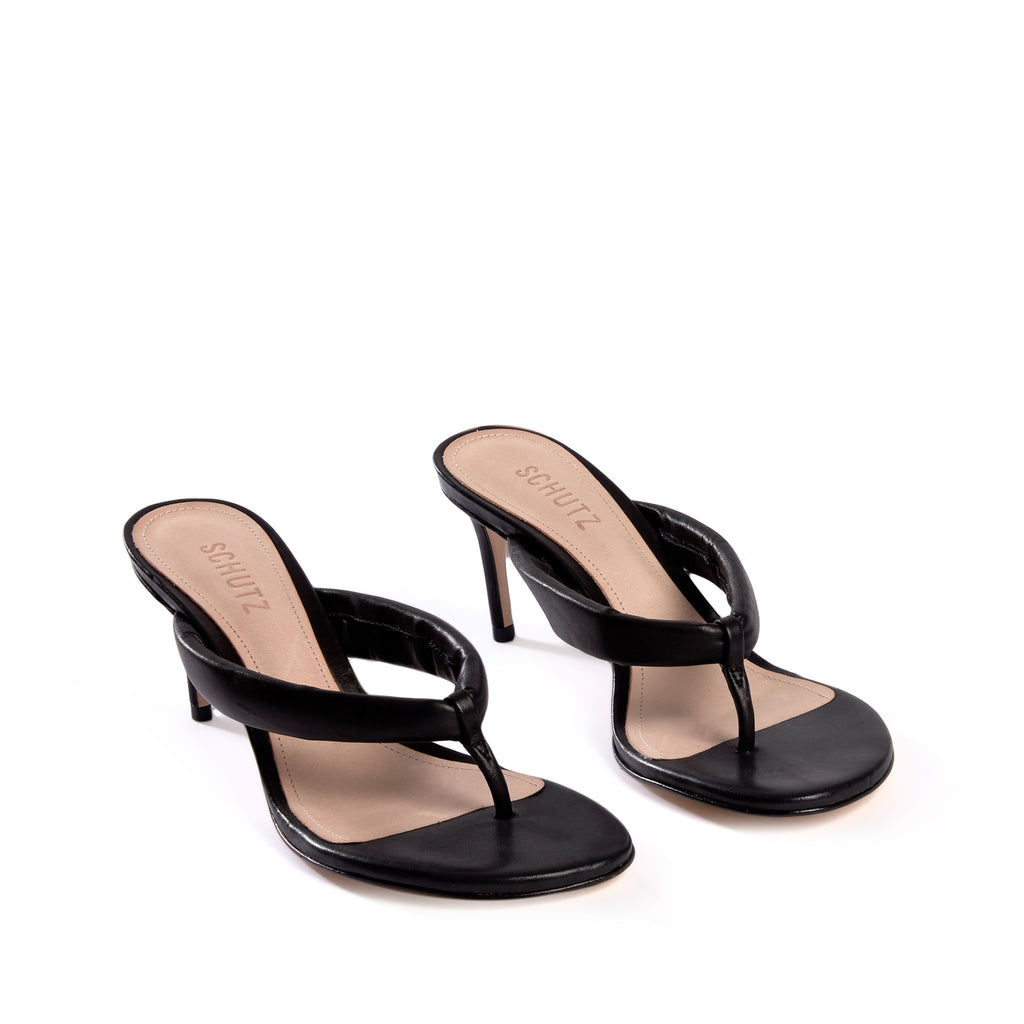 Sana Sandal in Black