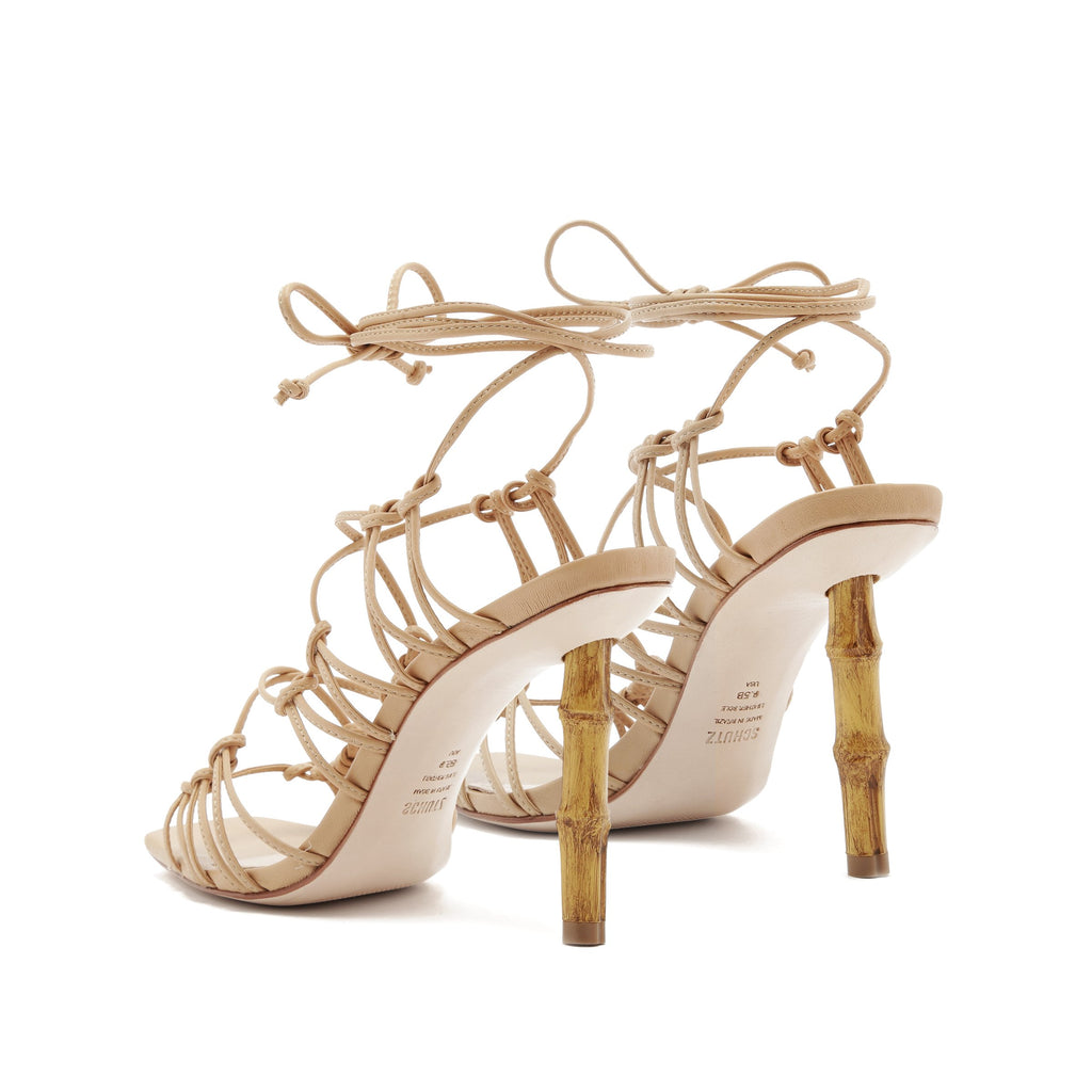 Savania Sandal in Honey Beige