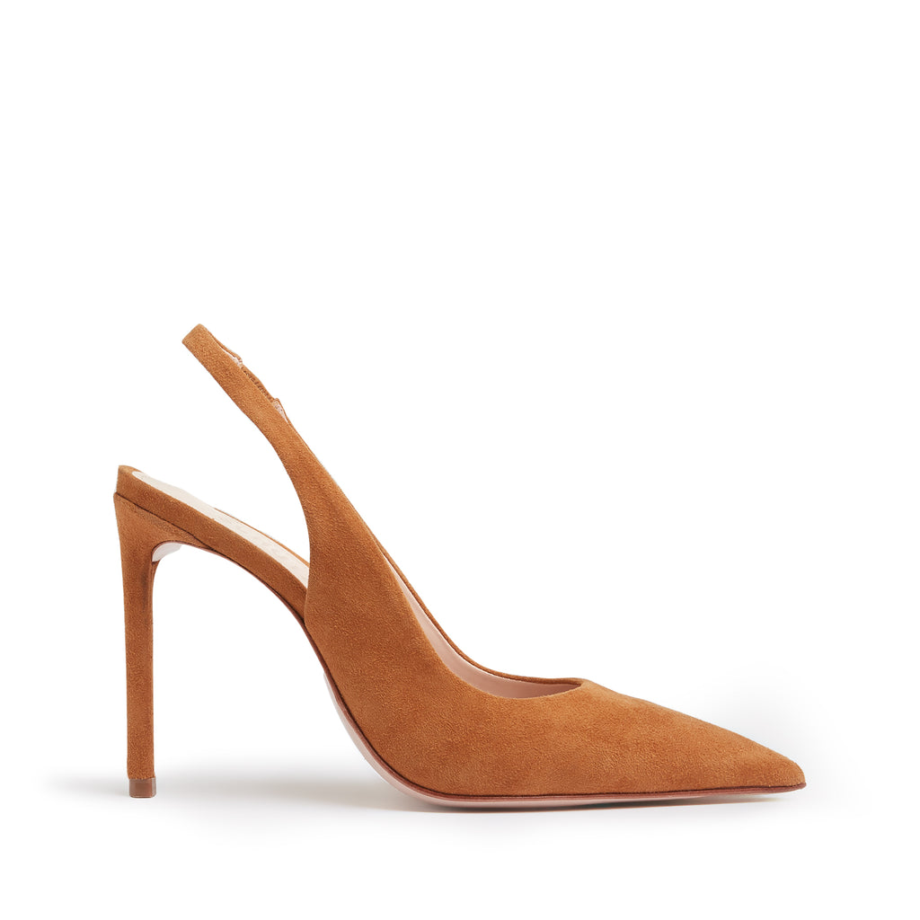 Shahia Slingback Pump in Wood