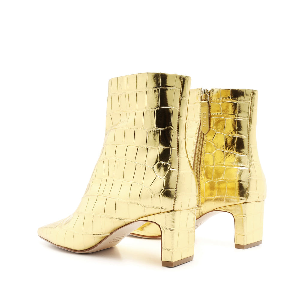 Tiliane Bootie in Ouro Gold