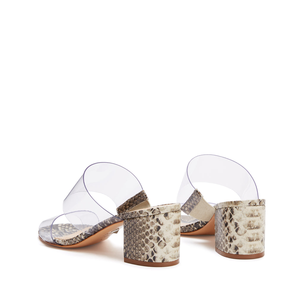 Victorie Sandal in Natural Snake