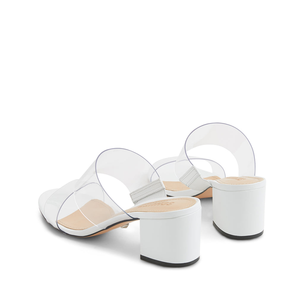 Victorie Sandal in White