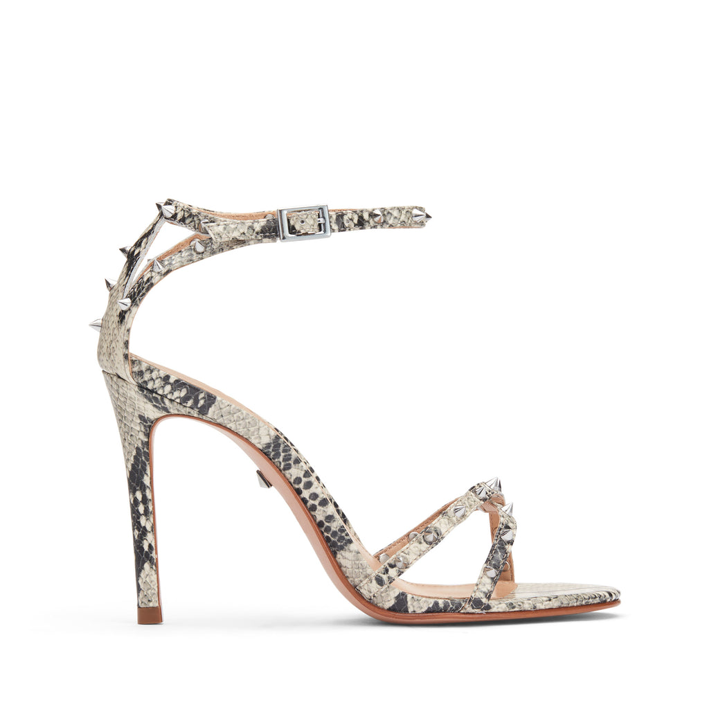 Wevellyn Sandal in Natural Snake