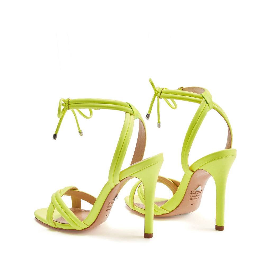 Yvi Sandal in Neon Yellow