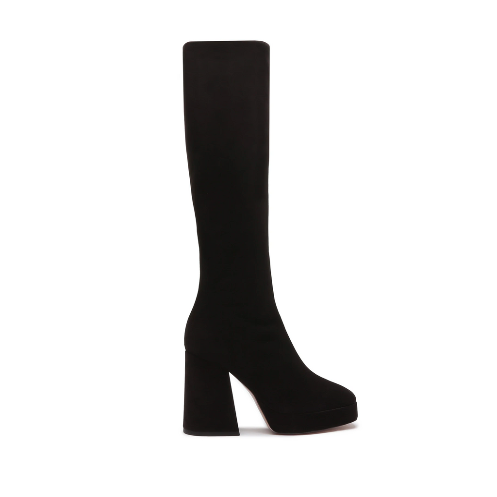 Colira Suede Boot in Black