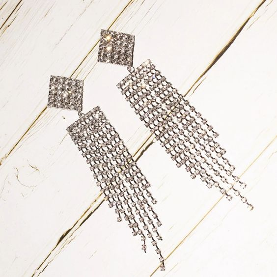 Stage Lights Chandelier Earrings - Shop Sugar Drip