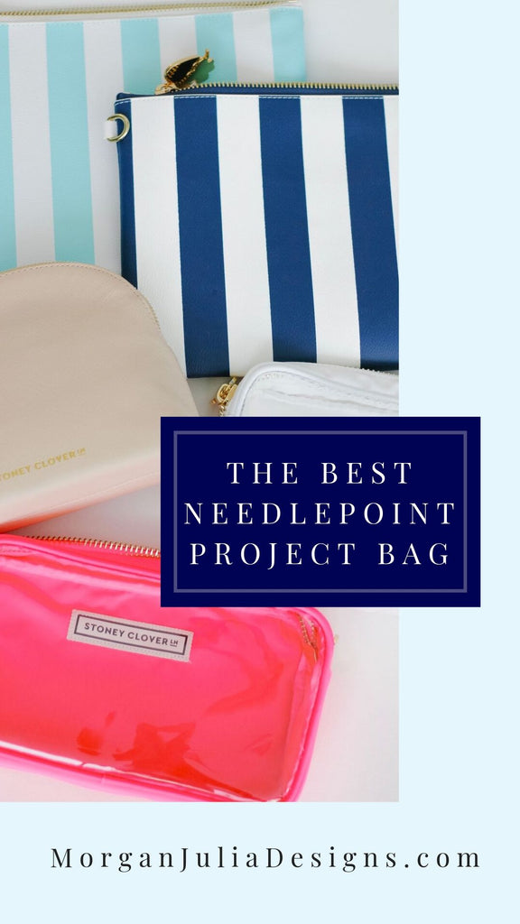 My Favorite Needlepoint Project Bags