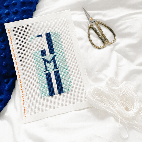 DIY Needlepoint Phone Case
