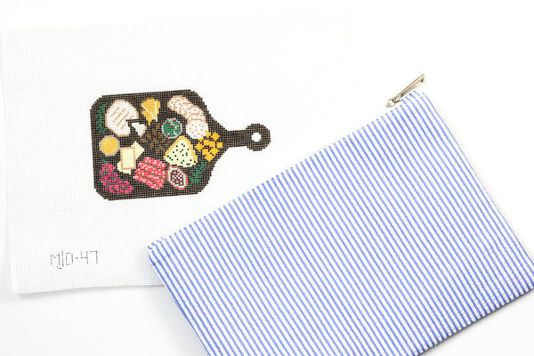 Charcuterie Board Needlepoint Kit