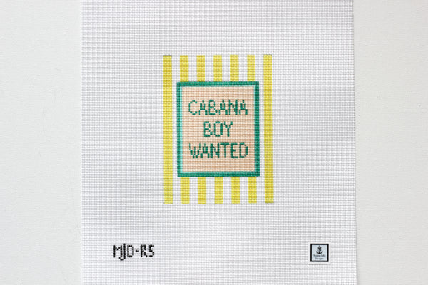 Cabana Boy Wanted