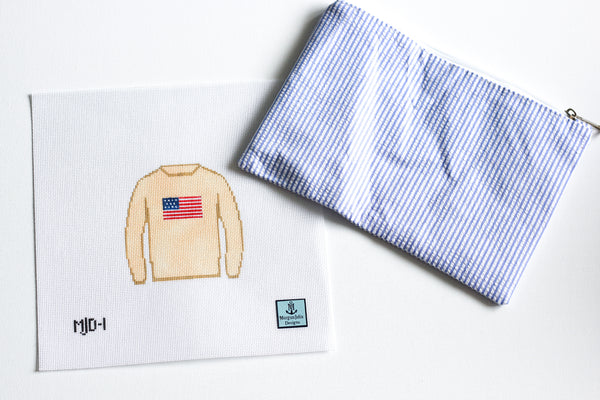 American Flag Sweater Kit