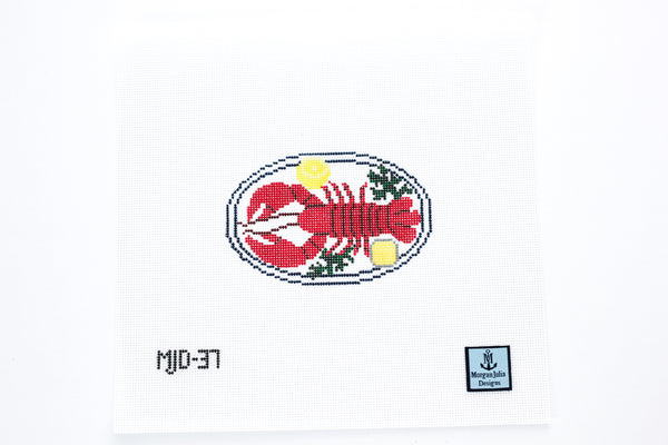 Lobster Dinner Needlepoint Canvas