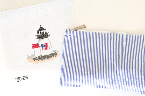 American Lighthouse Needlepoint Kit