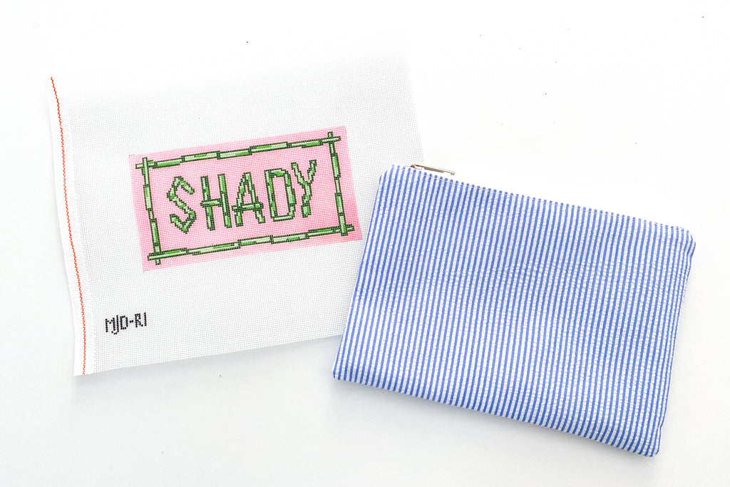 Shady Lady Needlepoint Kit
