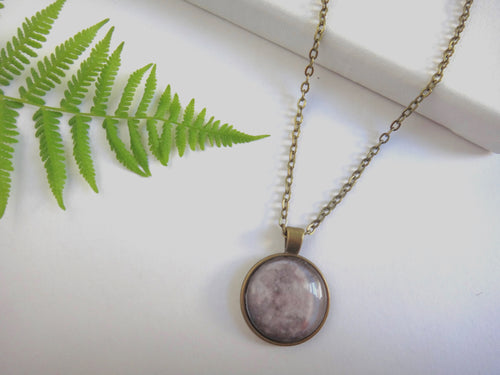 Full Moon Pendant - Antique Bronze - West Coast Skies
