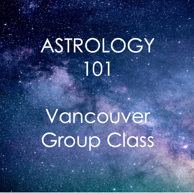 5 Week Intro to Astrology: July - August 2019 - West Coast Skies