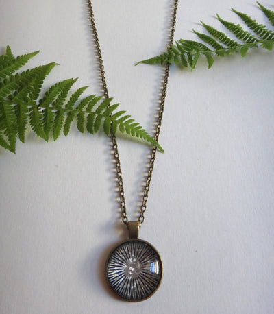 Star Bloom Pendant - Antique Bronze - West Coast Skies