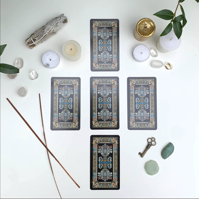 4 Week Intro to Tarot Card Reading 1:1 - West Coast Skies