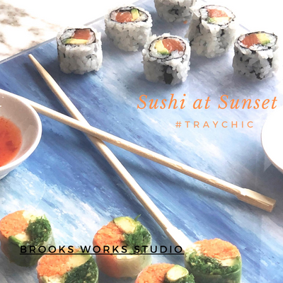 Serve Up Sushi at Sunset