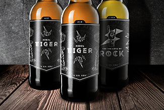 Our own 'Rebel Tiger' Beer and 'For the Love of Rock' Cider coming soon!