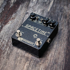 Vahlbruch FX SpaceTime Delay Black Knob - Rebellion Guitar Co.