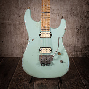 Luxxtone El Machete 80's Tribute Ltd Sonic Blue 3 of 4 - Rebellion Guitar Co.