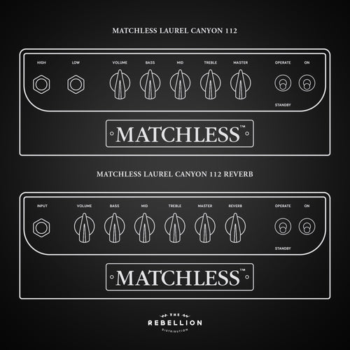 Matchless Amplifiers Laurel Canyon 112 - Rebellion Distribution