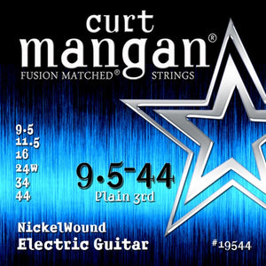 Curt Mangan 9-44 Nickelwound Electric Set - Rebellion Guitar Co.