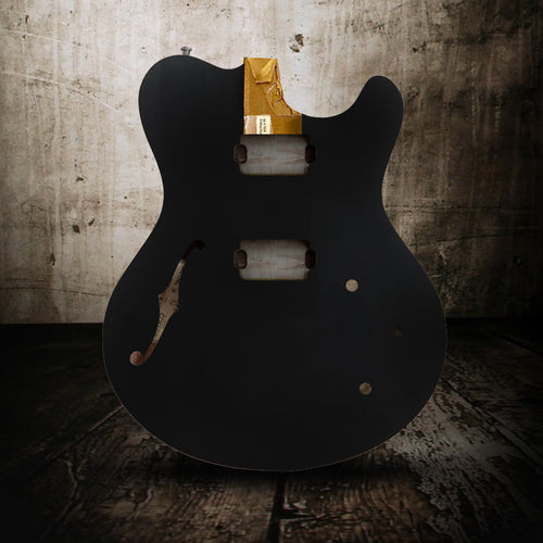Nik Huber Surfmeister Onyx Black - Rebellion Guitar Co.