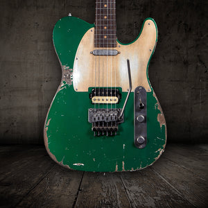 Luxxtone Choppa T Aged Sherwood Green - Rebellion Distribution