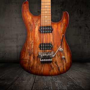 Luxxtone El Machete Spalted Maple Top - Rebellion Distribution