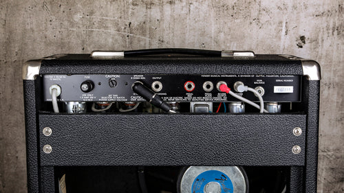 Fender Amplifiers 80's Super Champ Paul Rivera Era - Rebellion Distribution