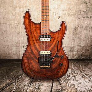 Iconic Guitars Evolution SD Limited Figured Walnut #0205 - Rebellion Guitar Co.