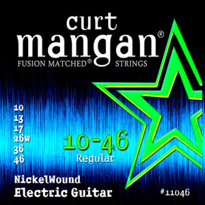Curt Mangan 10-46 Nickelwound Electric Set - Rebellion Guitar Co.