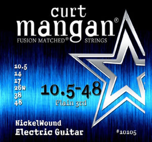Curt Mangan 10-48 Nickelwound Electric Set - Rebellion Guitar Co.