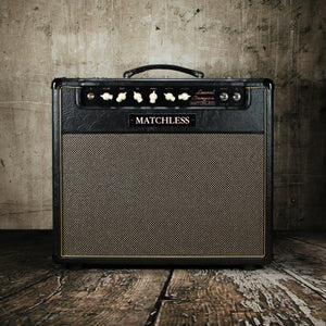 Matchless Amplifiers Laurel Canyon 112R Black/Gold - Rebellion Distribution