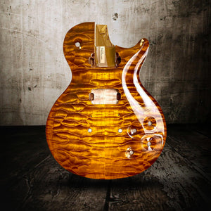 Nik Huber Orca 59 Double Stained Faded Sunburst Quilted Maple Exceptional Top - Rebellion Guitar Co.