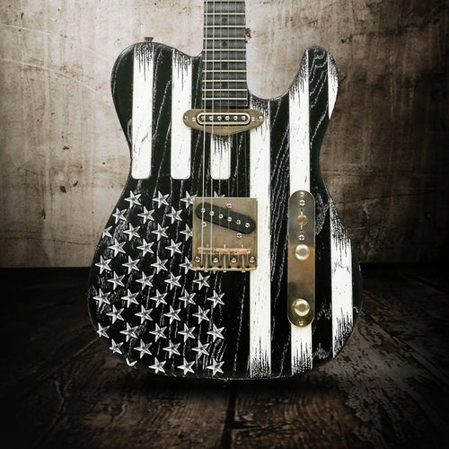 Palir Guitars Titan Mono Stars and Stripes - Rebellion Guitar Co.