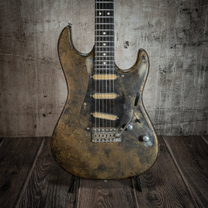 Patrick James Eggle 96 V Liquid Metal Limited #30497 - Rebellion Guitar Co.
