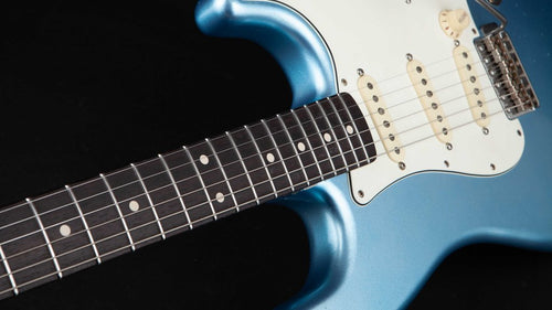 SMITTY GUITARS 60'S CLASSIC S ICE BLUE METALLIC - Rebellion Distribution