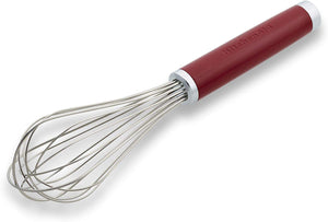 KitchenAid Batidor Rojo Acero Inoxidable