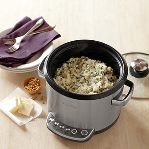 The Risotto Plus Olla Arrocera Vaporera 4Qt. - Breville