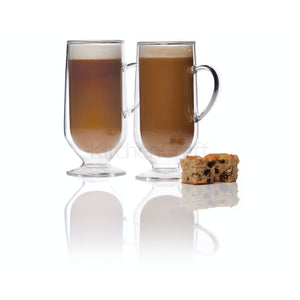 Set de 2 Tazas doble Pared para Cafe Latte - Le´Xpress