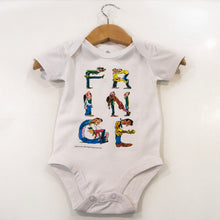 Load image into Gallery viewer, Retro baby grow