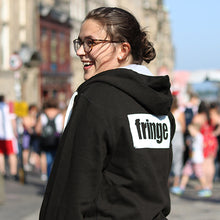 Load image into Gallery viewer, Logo zipped hoodie