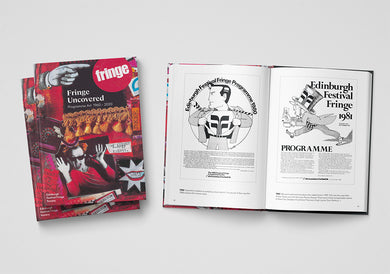 Fringe Uncovered: Programme Art  1960s to 2020 (limited-edition hardback)