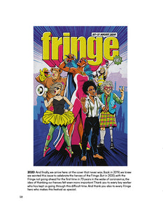 Fringe Uncovered  Programme Art 1960- 2020 (paperback)